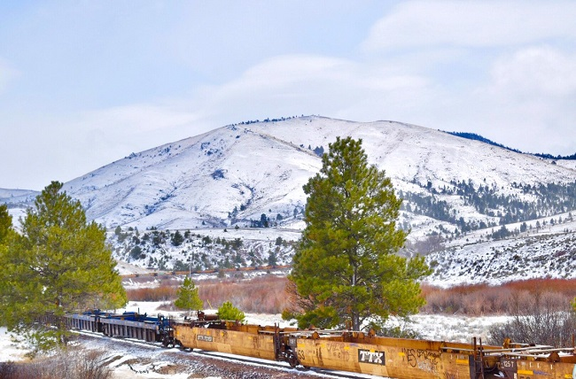 Snowy Helena Mountains 2019 Cropped