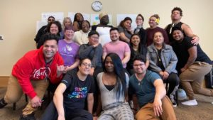 A convening of lovely people at the TRANSform Washington nonbinary messaging convening